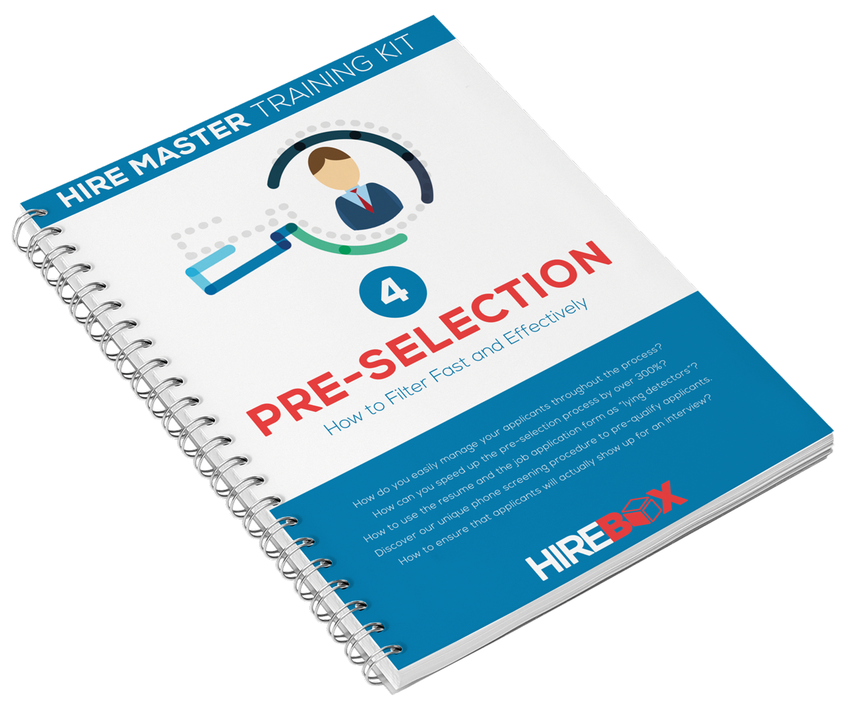 The hire master kit hirebox pre hire assessment internal how do you ensure that pre selected applicants will actually show up for an interview falaconquin