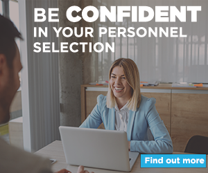 Be confident in your personnel selection